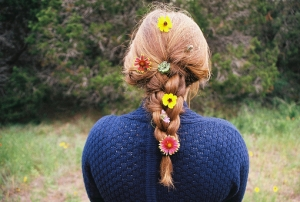 flowery-braid